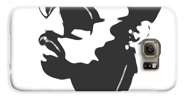 Jay Z Galaxy S6 Case - Kanye West Silhouette by Dan Sproul