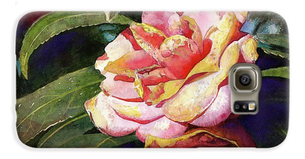 Floral Galaxy S6 Case - Karma Camellia by Andrew King