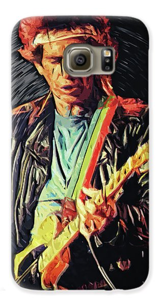 Keith Richards Galaxy S6 Case
