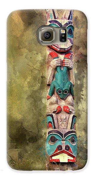 Ketchikan Alaska Totem Pole Galaxy S6 Case