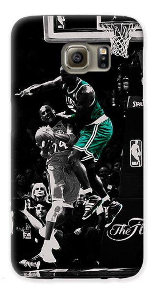 Kevin Garnett Not In Here Galaxy S6 Case by Brian Reaves
