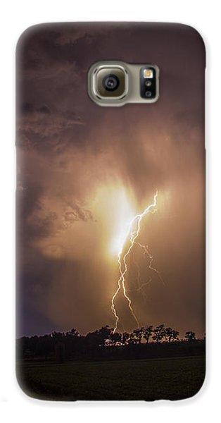 Nebraskasc Galaxy S6 Case - Kewl Nebraska Cg Lightning And Krawlers 014 by NebraskaSC