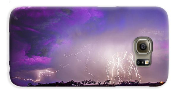 Nebraskasc Galaxy S6 Case - Kewl Nebraska Cg Lightning And Krawlers 038 by NebraskaSC