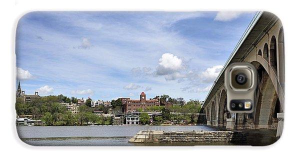 Key Bridge Into Georgetown Galaxy S6 Case by Brendan Reals