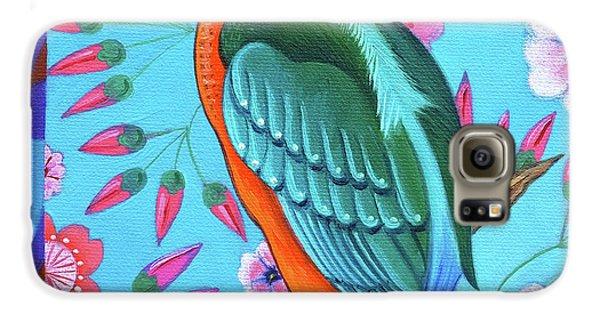 Kingfisher Galaxy S6 Case by Jane Tattersfield