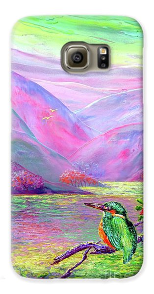Kingfisher, Shimmering Streams Galaxy S6 Case