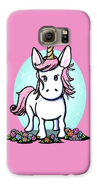 Kiniart Unicorn Sparkle Galaxy S6 Case
