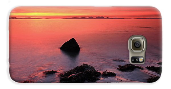 Kintyre Rocky Sunset 2 Galaxy S6 Case by Grant Glendinning