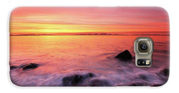 Kintyre Rocky Sunset 3 Galaxy S6 Case by Grant Glendinning