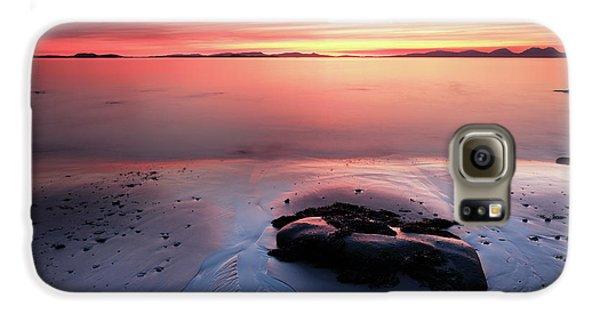 Kintyre Rocky Sunset 5 Galaxy S6 Case by Grant Glendinning