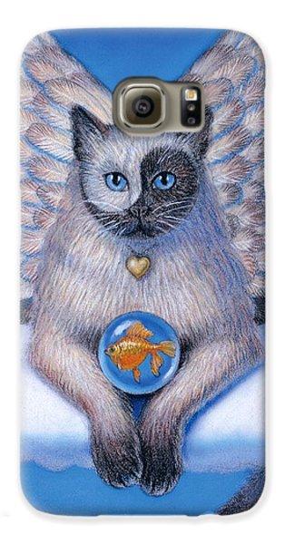Kitty Yin Yang- Cat Angel Galaxy S6 Case