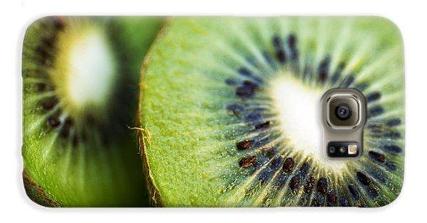 Kiwi Fruit Halves Galaxy S6 Case