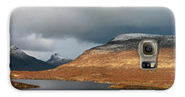 Knockan Crag Mountain View Galaxy S6 Case by Grant Glendinning