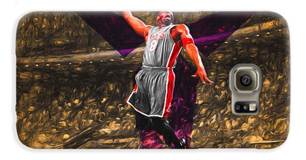 Kobe Bryant Black Mamba Digital Painting Galaxy S6 Case