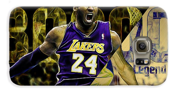 Kobe Bryant Collection Galaxy S6 Case by Marvin Blaine