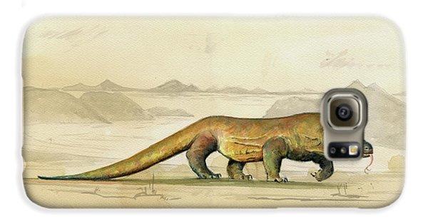 Dragon Galaxy S6 Case - Komodo Dragon by Juan Bosco