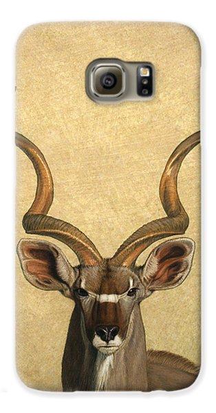 Animals Galaxy S6 Case - Kudu by James W Johnson