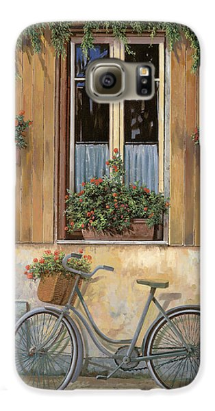 Transportation Galaxy S6 Case - La Bici by Guido Borelli