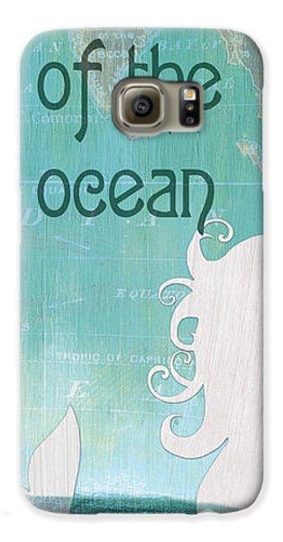 Seahorse Galaxy S6 Case - La Mer Mermaid 1 by Debbie DeWitt