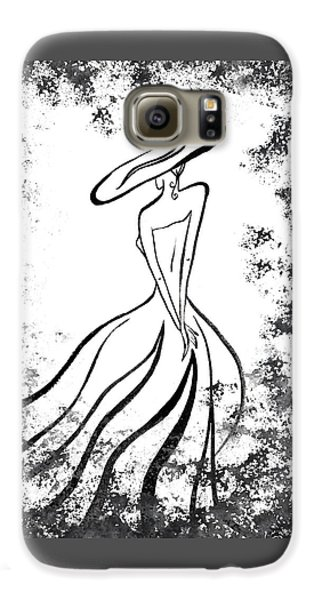 Lady Charm Galaxy S6 Case by Irina Sztukowski