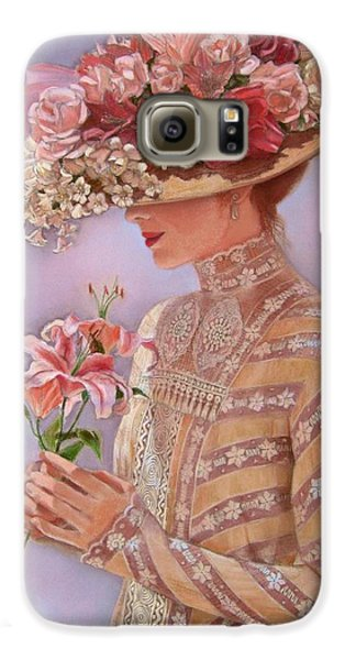 Lily Galaxy S6 Case - Lady Jessica by Sue Halstenberg