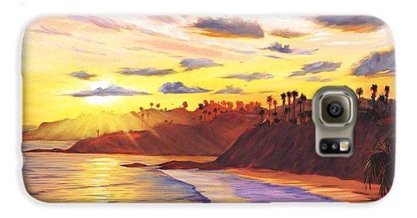Laguna Village Sunset Galaxy S6 Case