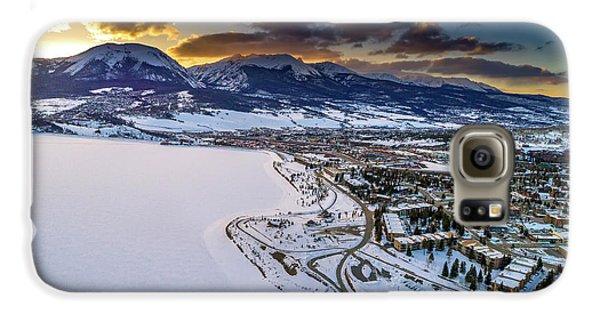 Galaxy S6 Case featuring the photograph Lake Dillon Sunset by Sebastian Musial