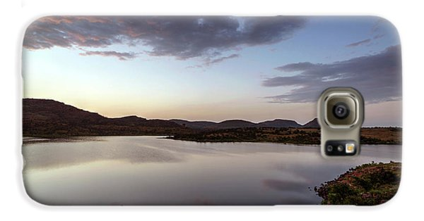 Lake In The Wichita Mountains  Galaxy S6 Case