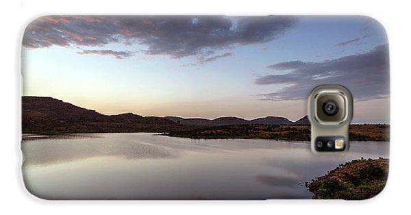 Lake In The Wichita Mountains  Galaxy S6 Case
