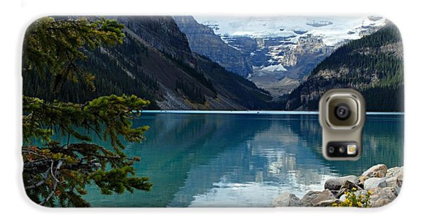 Mountain Galaxy S6 Case - Lake Louise 2 by Larry Ricker
