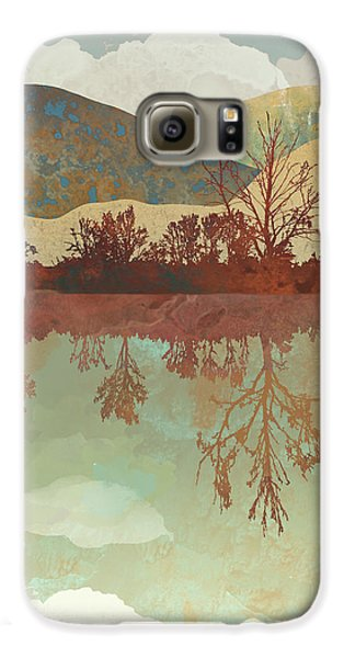 Landscape Galaxy S6 Case - Lake Side by Spacefrog Designs