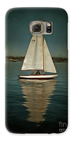 Lake Union Day Sailing Galaxy S6 Case