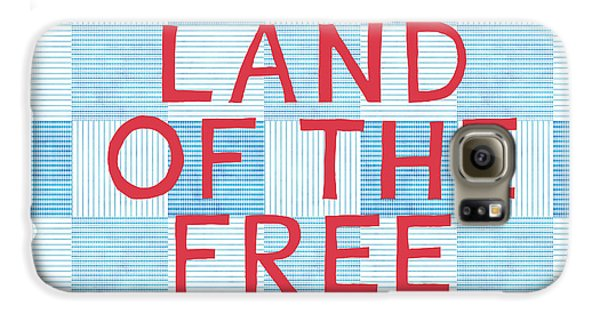 Landmarks Galaxy S6 Case - Land Of The Free by Linda Woods