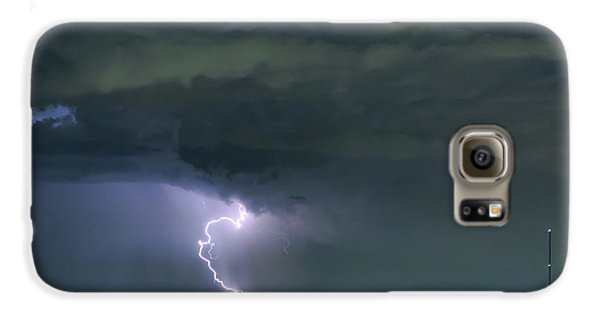 Galaxy S6 Case featuring the photograph Landing In A Storm by James BO Insogna