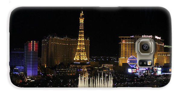 Las Vegas By Night Galaxy S6 Case