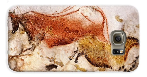 Lascaux Cow And Horse Galaxy S6 Case