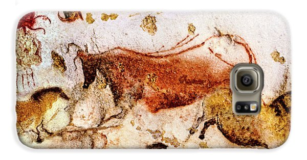Lascaux Cow And Horses Galaxy S6 Case