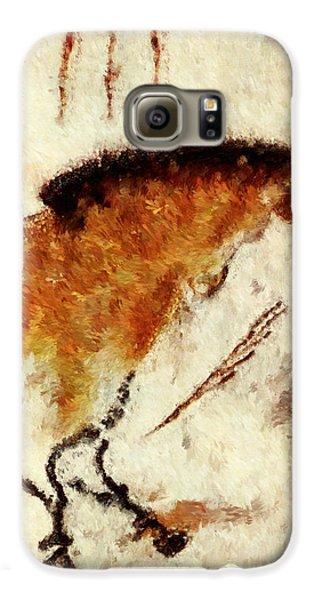 Lascaux Prehistoric Horse Detail Galaxy S6 Case