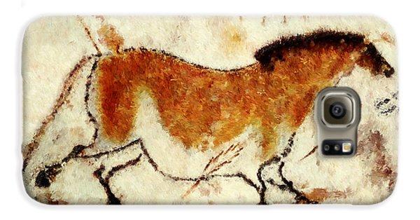 Lascaux Prehistoric Horse Galaxy S6 Case