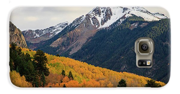 Last Light Of Autumn Galaxy S6 Case by David Chandler