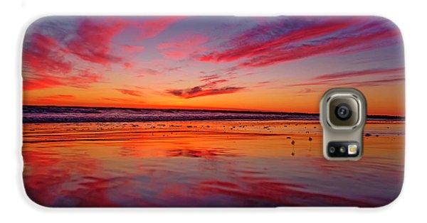 Last Light Topsail Beach Galaxy S6 Case by Betsy Knapp