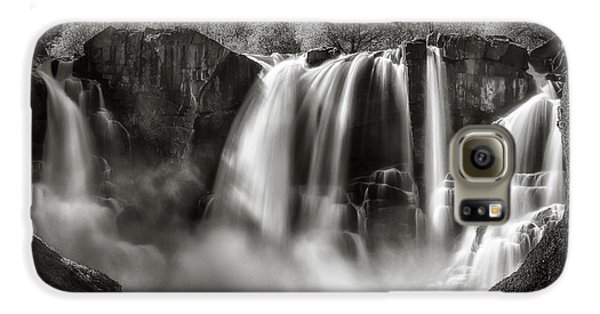Galaxy S6 Case featuring the photograph Late Afternoon At The High Falls by Rikk Flohr