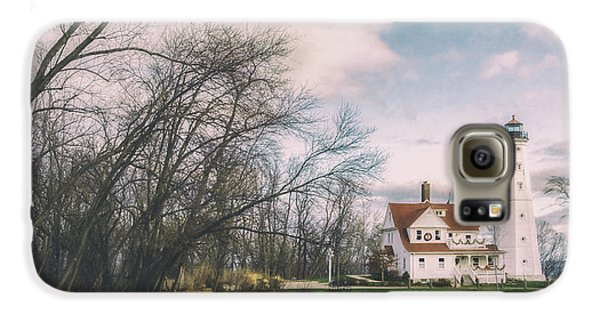 Late Afternoon At The Lighthouse Galaxy S6 Case by Scott Norris