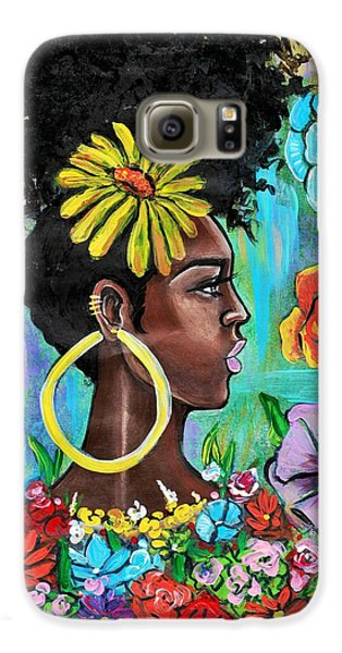 Galaxy S6 Case - Late Bloomer by Artist RiA