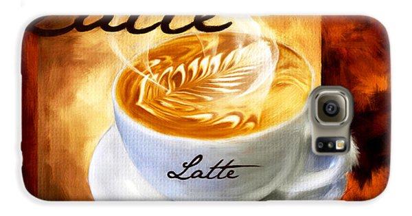 Latte Galaxy S6 Case by Lourry Legarde