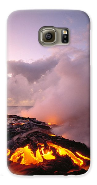 Lava Flows At Sunrise Galaxy S6 Case by Peter French - Printscapes