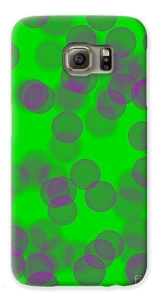 Lavender Bokeh Galaxy S6 Case