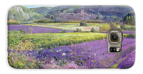 Lavender Fields In Old Provence Galaxy S6 Case by Timothy Easton