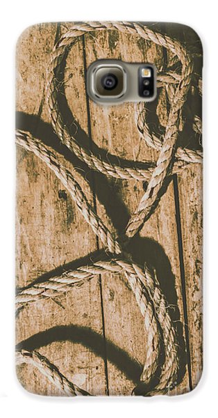 Galaxy S6 Case featuring the photograph Learning The Ropes by Jorgo Photography - Wall Art Gallery