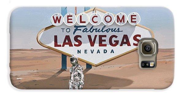 Astronauts Galaxy S6 Case - Leaving Las Vegas by Scott Listfield